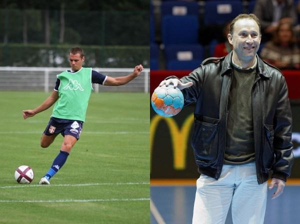 Kévin Bérigaud und Jean-Pierre Papin lieben Volleys in den Winkel. Fotos: Yannick Bouvard (links) und Pierre-Yves Beaudouin (rechts)